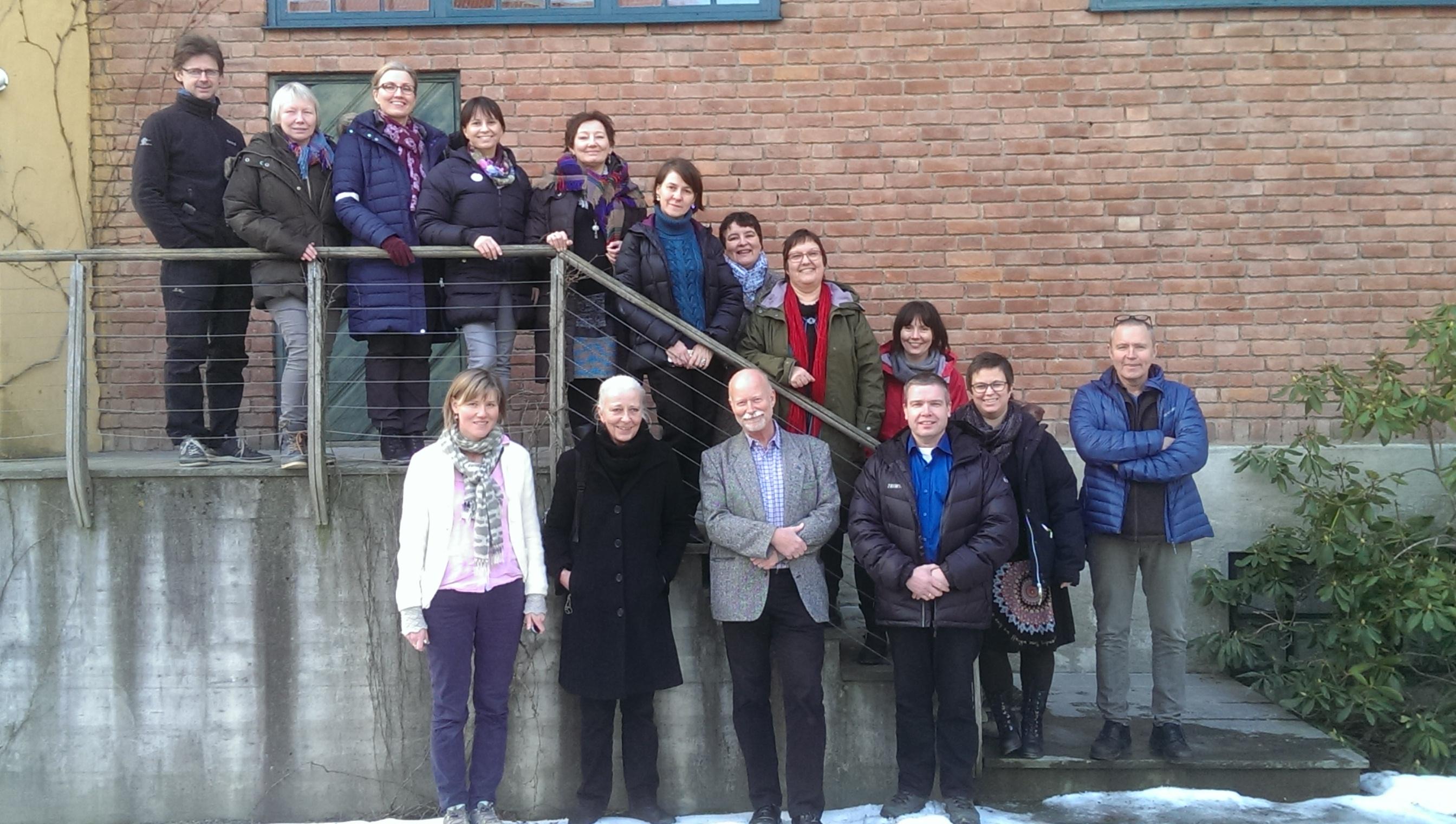 Første fellesmøte på Norsk Folkemuseum, februar 2015, alle partnere Foto: Norsk Folkemuseum