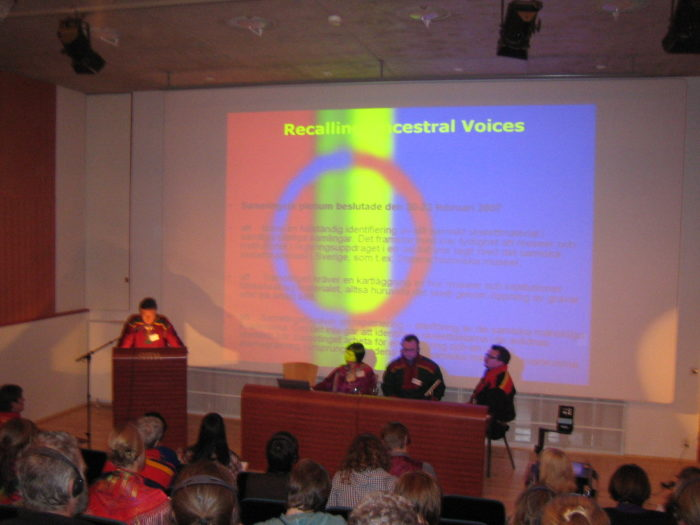 Seminar: Recalling Ancestral Voices 2007. Foto: Leif Pareli / Norsk Folkemuseum