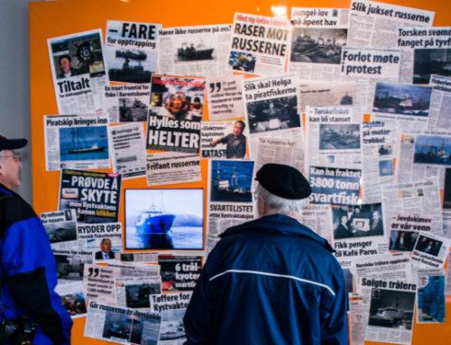 Flytende russisk – sjømenn fra øst møter Tromsø | Perspektivet museum